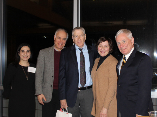Dean Ryan and members of the Friends Advisory Board