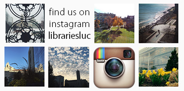 Follow the libraries on Instagram