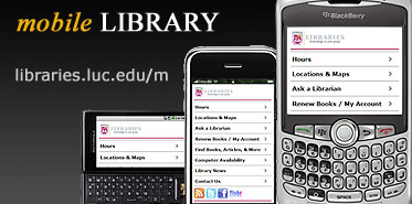 Mobile Library Website