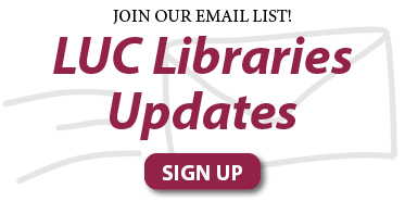 email signup for Libraries news
