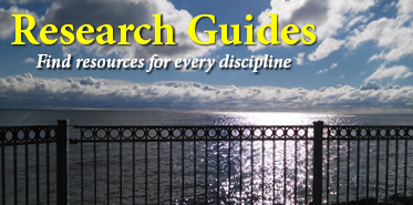 Get help with library research guides